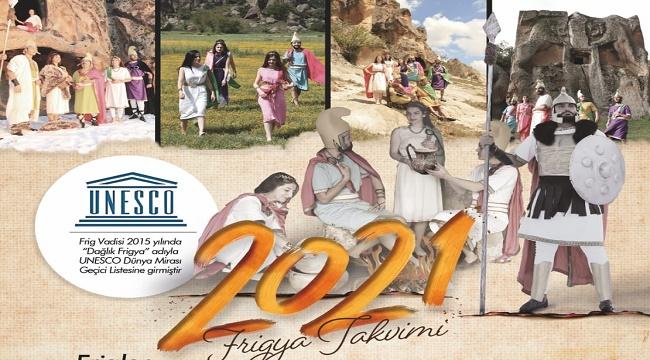 2021 FRİGYA TAKVİMİ HAZIRLANDI
