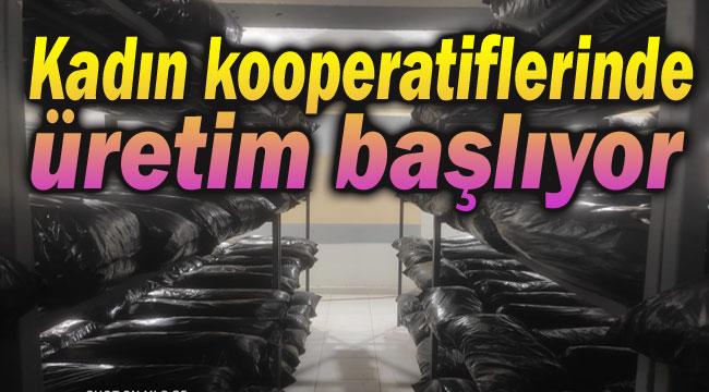 AFYON'DA KADIN KOOPERATİFLERİ ÜRETİME BAŞLADI!..