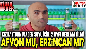 KIZILAY MADEN SUYU İÇİN 2 REKLAM FİLMİ HAZIRLADI!..