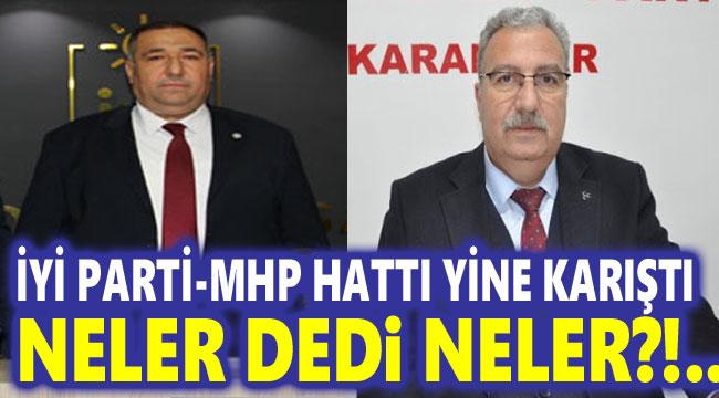 AFYON'DA İYİ PARTİ - MHP HATTI GERİLDİ