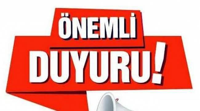 AFYONKARAHİSAR BELEDİYESİ VATANDAŞI UYARDI!..