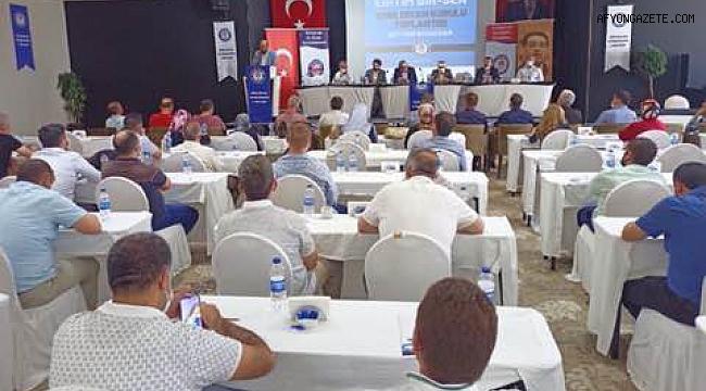 EĞİTİM BİR SEN, AFYON DİVAN KURULU TOPLANDI